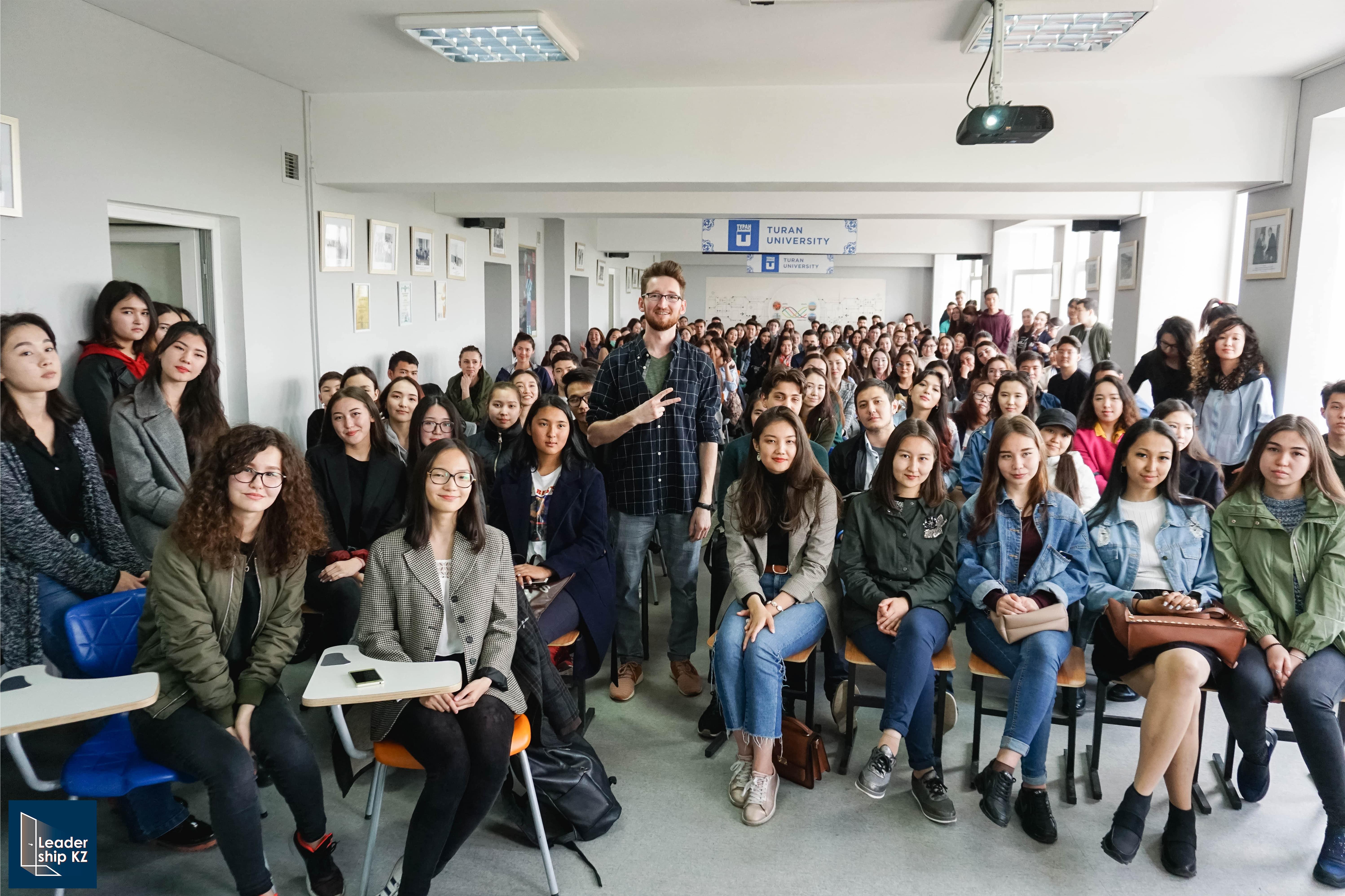 Встреча студентов с Виталием Бужаном