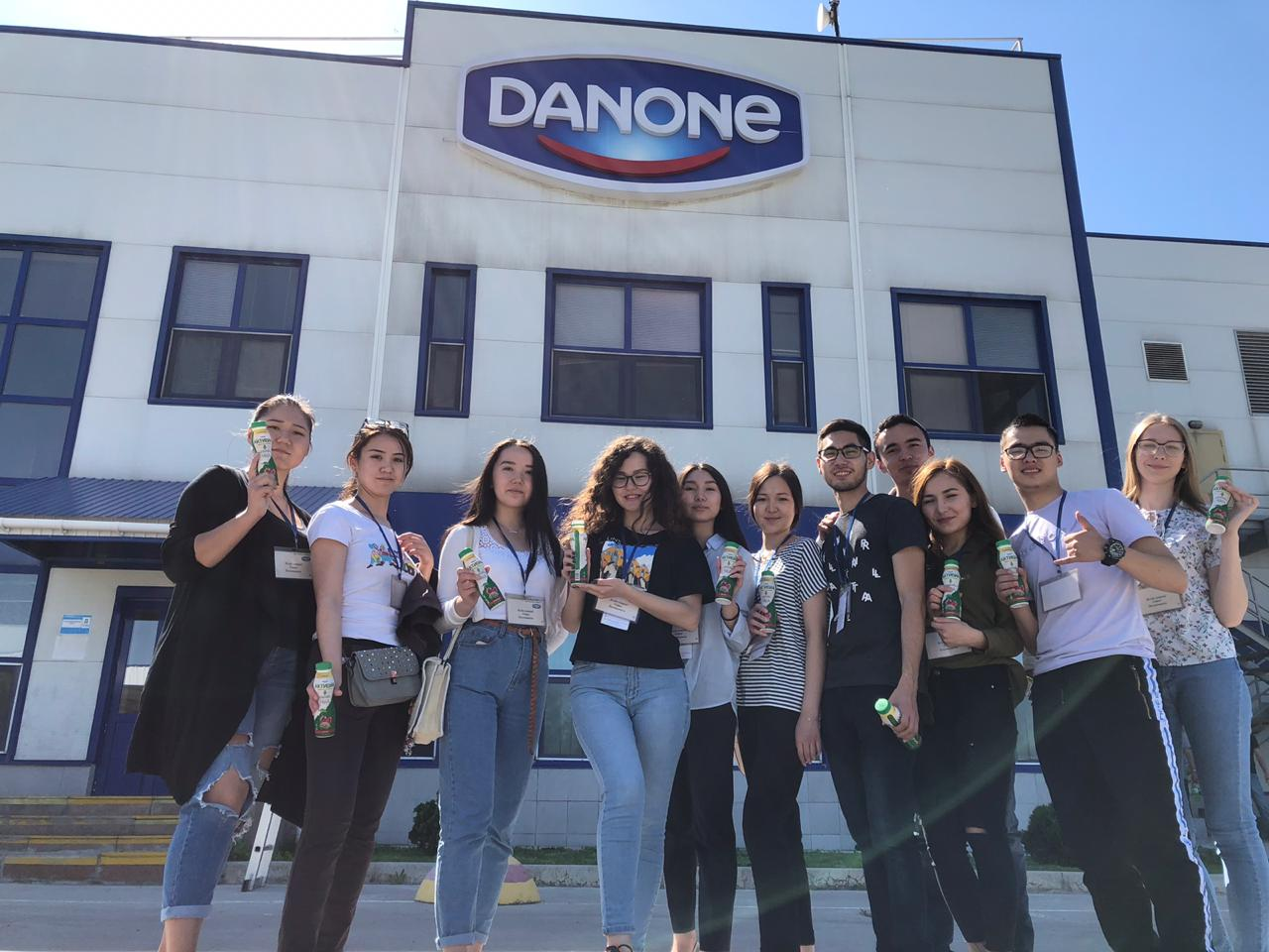 "Экскурсия на завод ""Danone"""