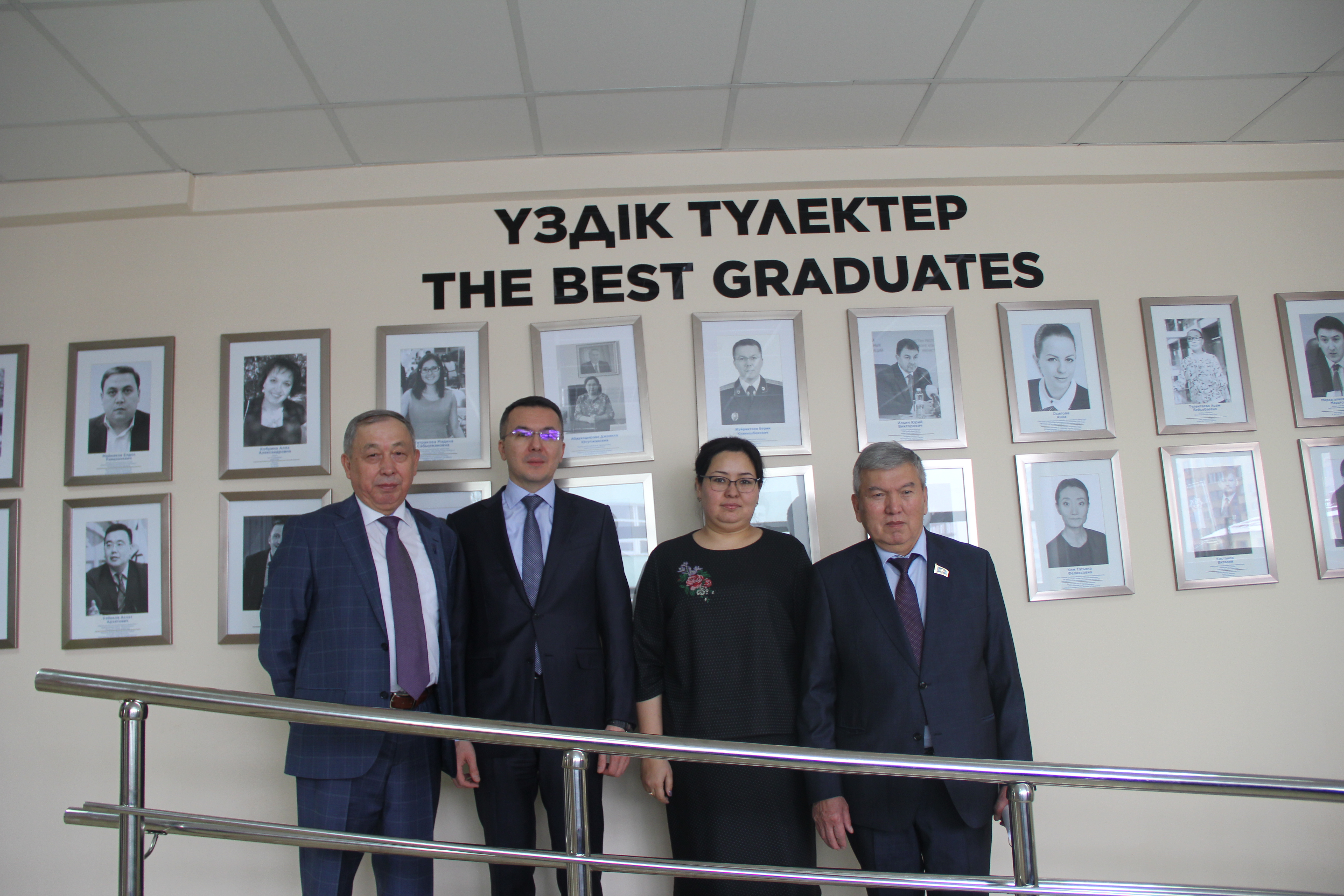 «Аллея лучших выпускников» университета «Туран» пополнилась новыми именами.