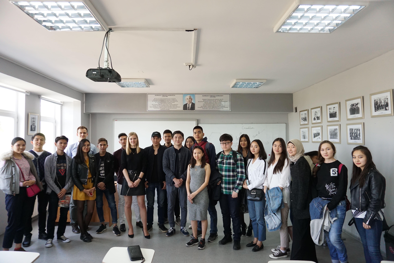 Состоялась встреча с сооснователем и СЕО компании «Nommi» Аленой Ткаченко