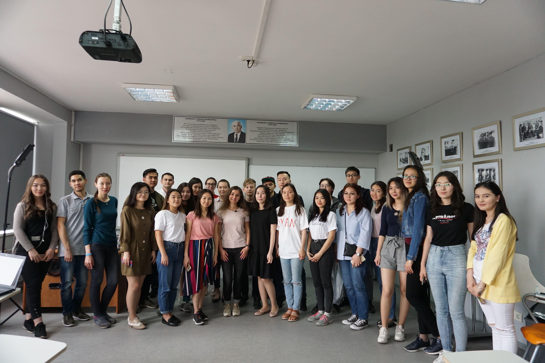 """Встреча молодежи г. Алматы с Data Scientist """"Kolesa Group"""""""