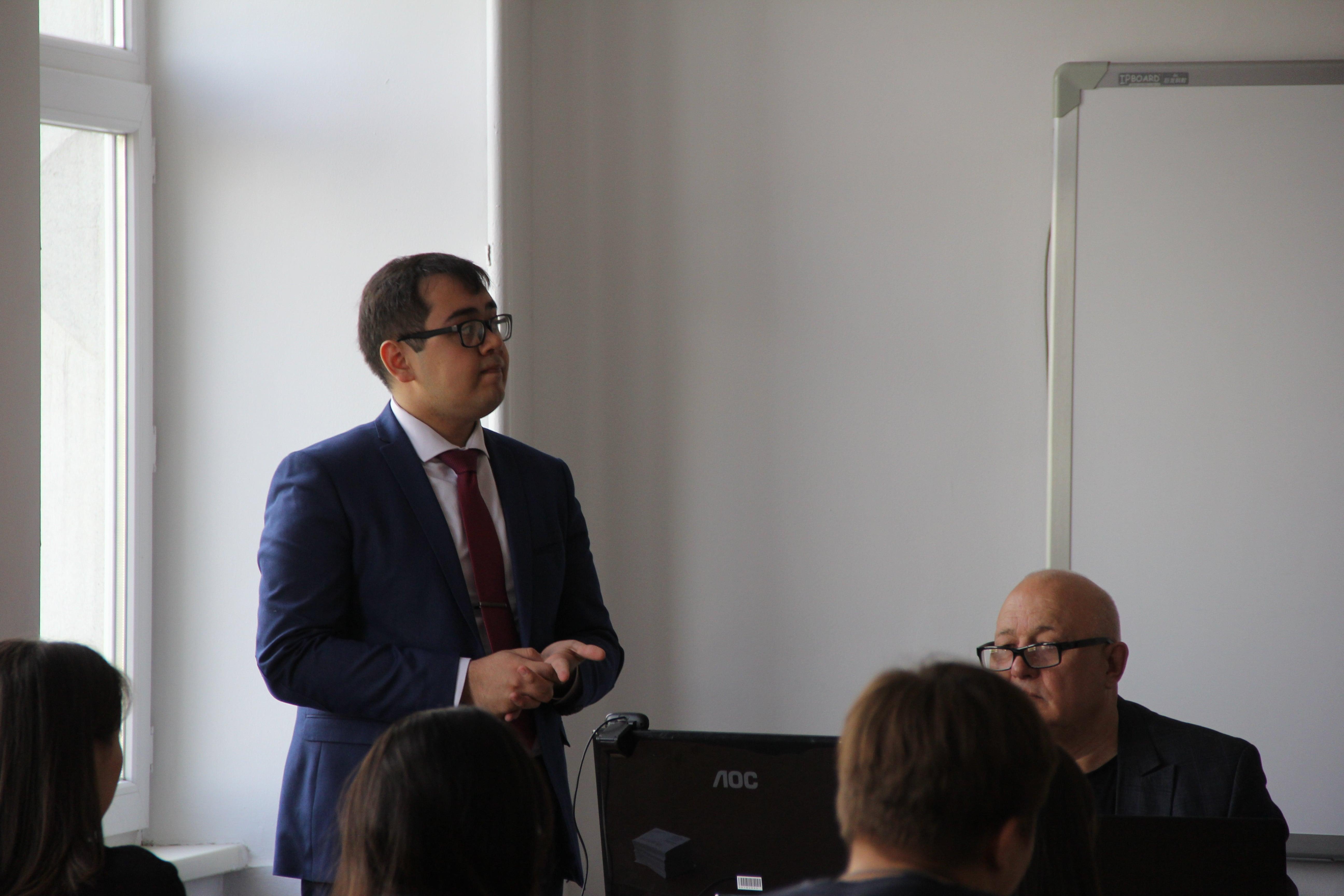"""Встреча студентов с представителями юридической фирмы """"Synergy Partners"""""""
